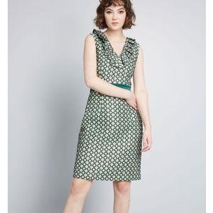 ModCloth x Anna Sui Admiring Eyes Sheath Dress